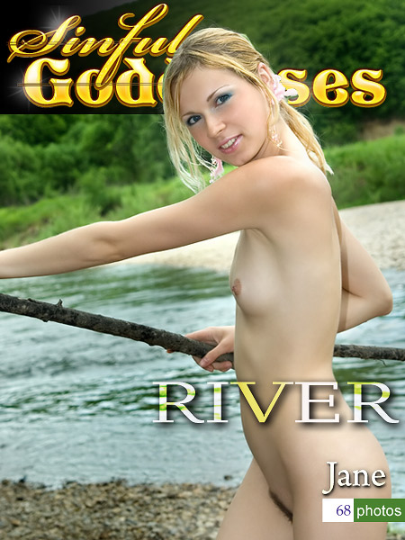 Jane - `River` - by Nudero for SINGODDESS