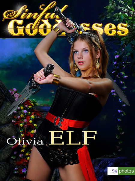 Olivia - `Elf` - by Nudero for SINGODDESS