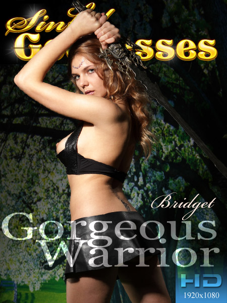 Bridget in Gorgeous Warrior video from SINGODDESS by Nudero