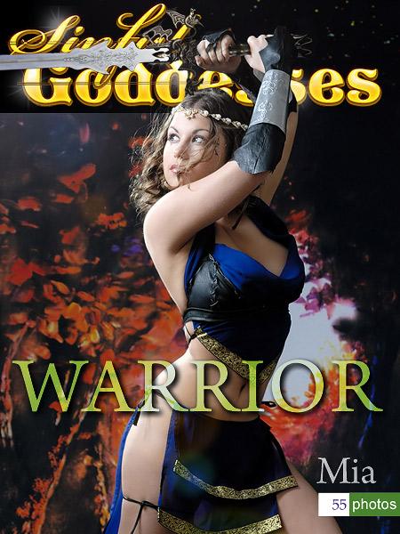 Mia - `Gorgeous Warrior` - by Nudero for SINGODDESS