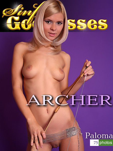 Paloma - `Archer` - by Nudero for SINGODDESS