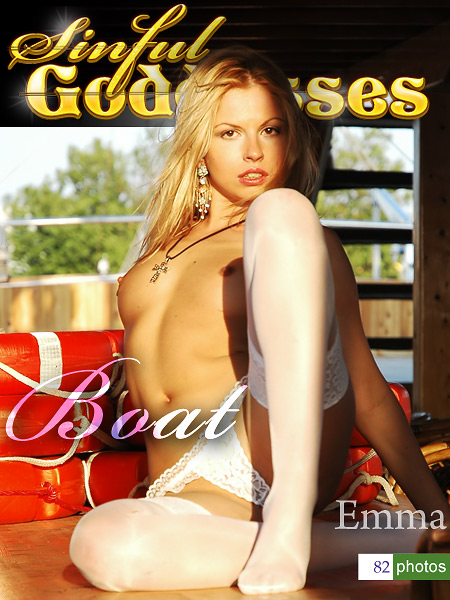 Emma - `Boat` - by Nudero for SINGODDESS