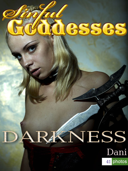 Dani - `Darkness` - by Nudero for SINGODDESS