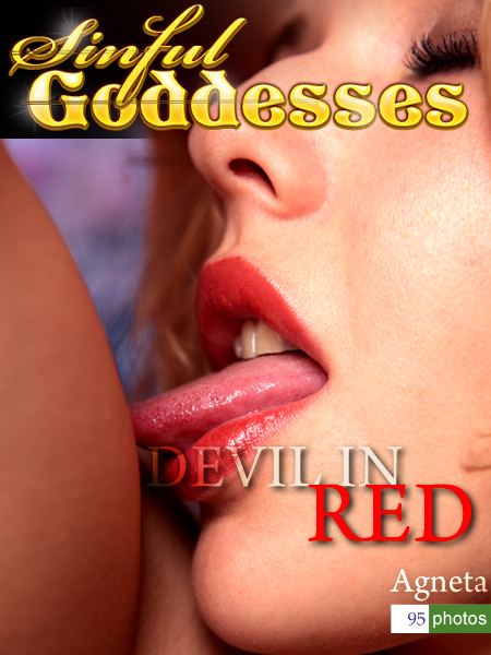 Agneta - `Devil in Red` - by Nudero for SINGODDESS