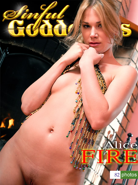 Alice - `Fire` - by Nudero for SINGODDESS