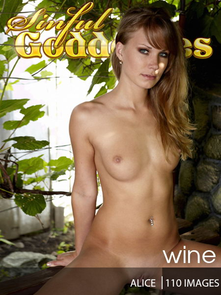 Alice - `Wine` - by Nudero for SINGODDESS