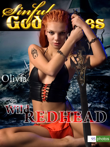 Olivia - `Wild REDHEAD` - by Nudero for SINGODDESS