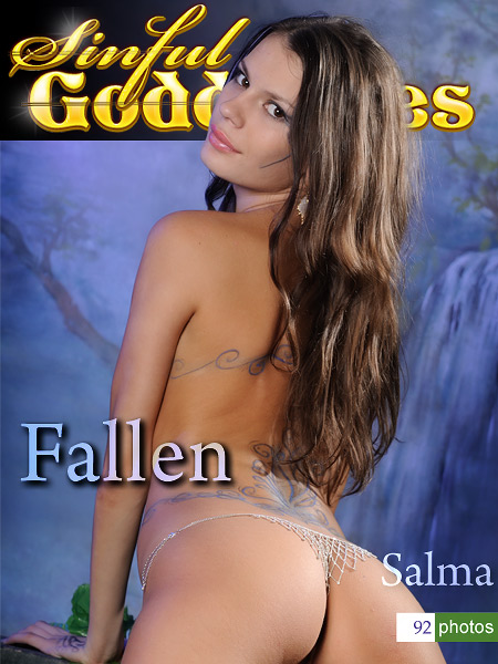 Salma - `Fallen` - by Nudero for SINGODDESS