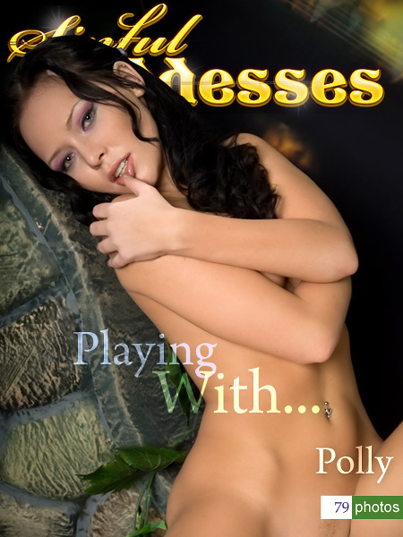 Polly - `playing with` - by Nudero for SINGODDESS