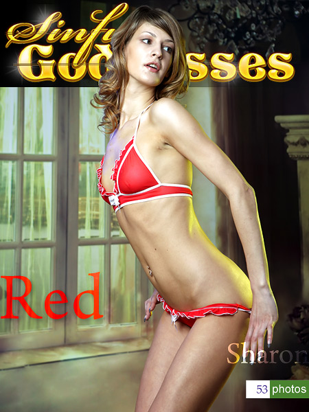 Sharon - `Red` - by Nudero for SINGODDESS