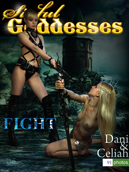 Dani & Celiah - `Fight` - by Nudero for SINGODDESS