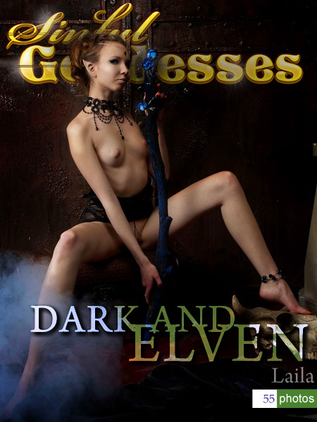 Laila - `Dark and Elven` - by Nudero for SINGODDESS