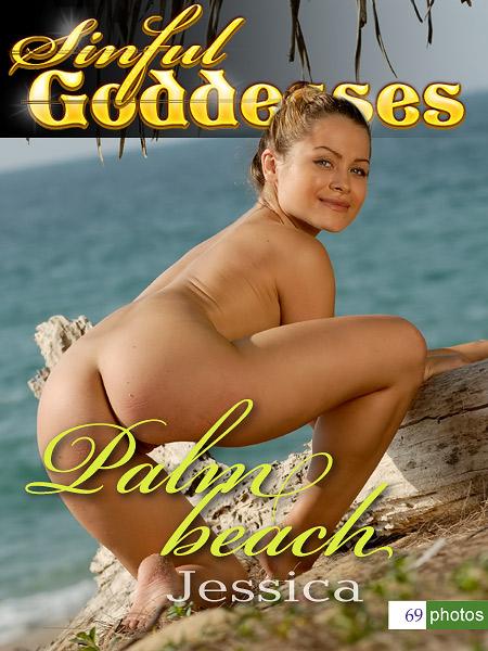 Jessica - `Palm Beach` - by Nudero for SINGODDESS