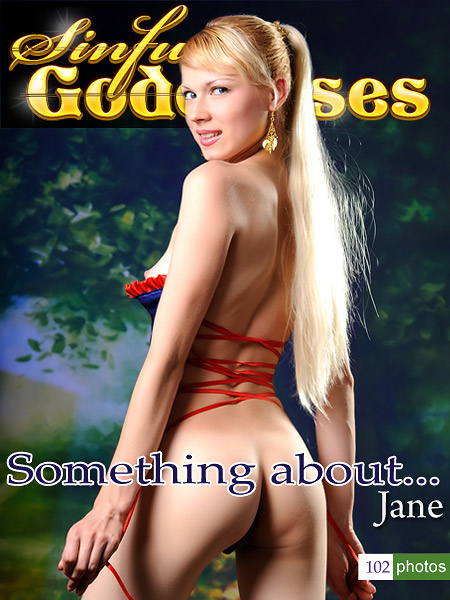 Jane - `Somthing about...` - by Nudero for SINGODDESS