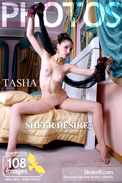 Tasha - `Sheer Desire` - by Skokov for SKOKOFF