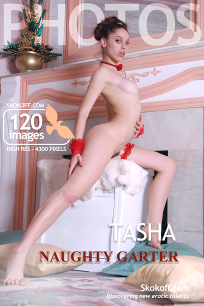 Tasha - `Naughty Garter` - by Skokov for SKOKOFF