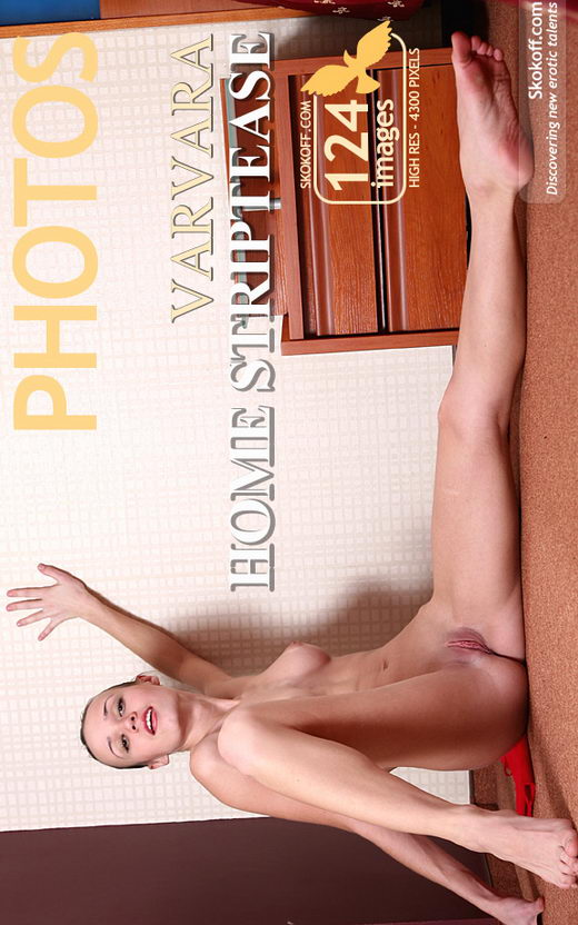Varvara - `Home Striptease` - by Skokov for SKOKOFF