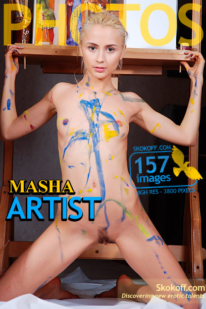 Masha - `Artist` - by Skokov for SKOKOFF