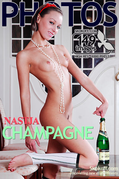Nastja - `Champagne` - by Skokov for SKOKOFF