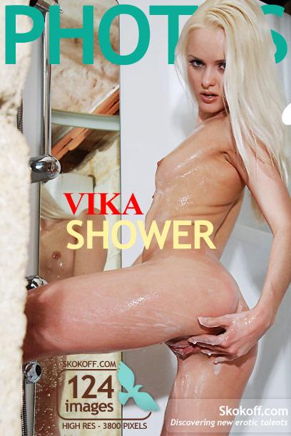 Vika - `Shower` - by Skokov for SKOKOFF