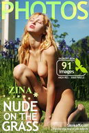 Zina - Nude On The Grass
