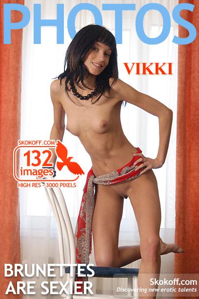 Vikki - `Brunettes Are Sexier` - by Skokov for SKOKOFF