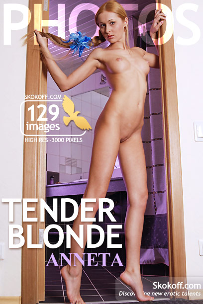 Anneta - `Tender Blonde` - by Skokov for SKOKOFF