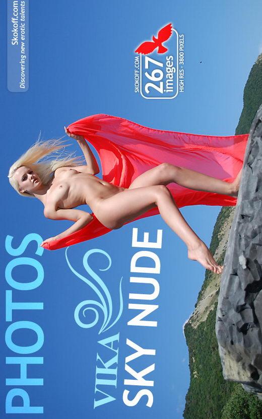 Vika - `Sky Nude` - by Skokov for SKOKOFF