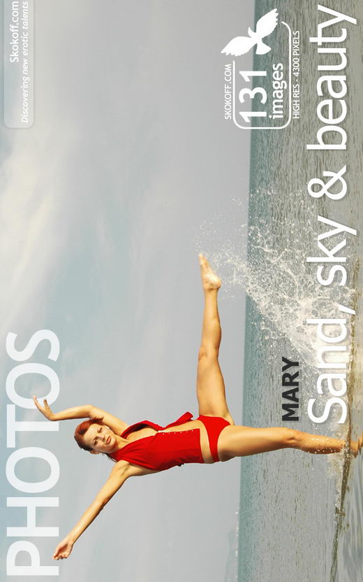 Mary - `Sand Sky & Beauty` - by Skokov for SKOKOFF