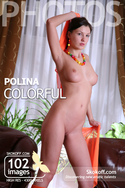 Polina - `Colorful` - by Skokov for SKOKOFF