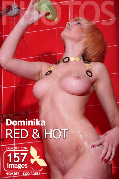 Dominika - `Red and Hot` - by Skokov for SKOKOFF