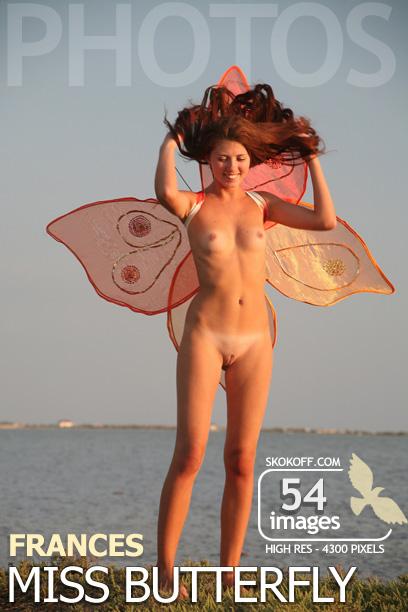 Frances - `Miss Butterfly` - by Skokov for SKOKOFF
