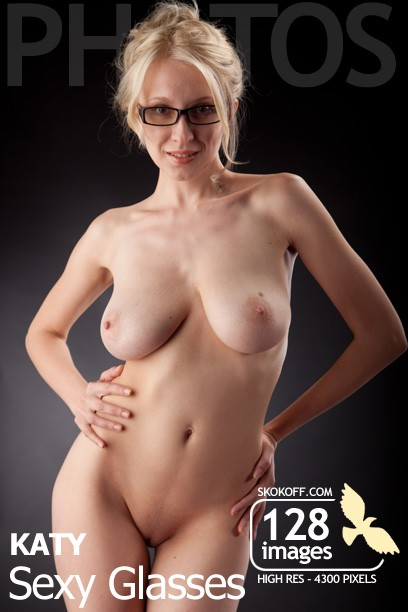 Katy in Sexy Glasses gallery from SKOKOFF by Skokov