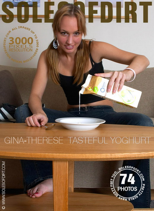 Gina-Therese - `Tasteful Yoghurt` - for SOLESOFDIRT
