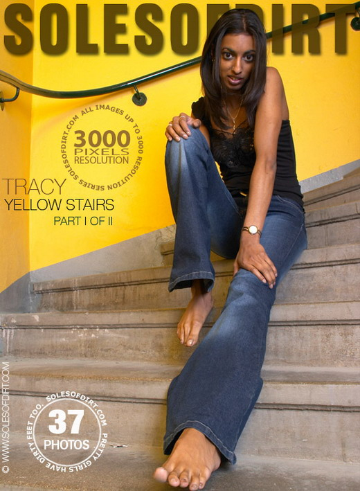 Tracy - `Yellow Stairs - Part 1` - for SOLESOFDIRT
