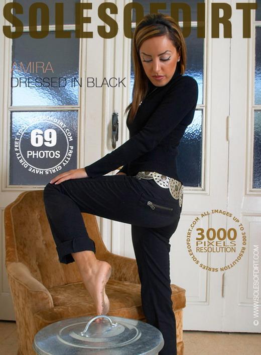 Amira - `Dressed in Black` - for SOLESOFDIRT