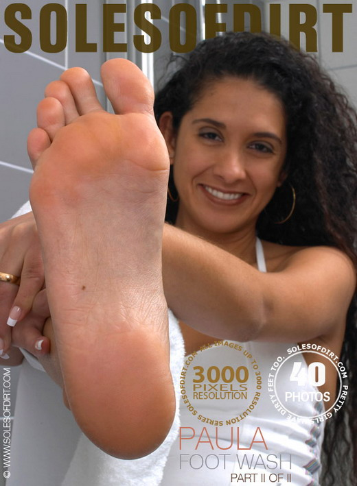 Paula - `Foot Wash - Part 2` - for SOLESOFDIRT