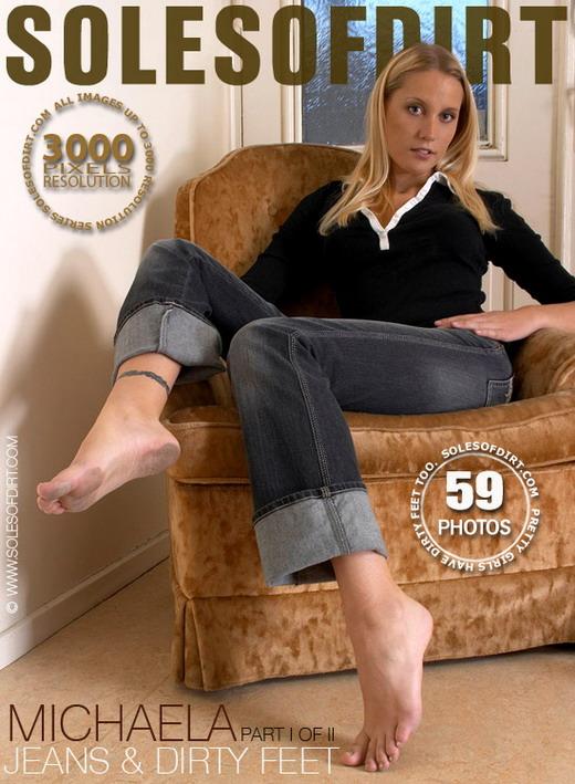 Michaela - `Jeans & Dirty Feet - Part 1` - for SOLESOFDIRT