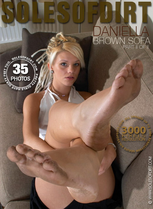 Daniella - `Brown Sofa - Part 2` - for SOLESOFDIRT