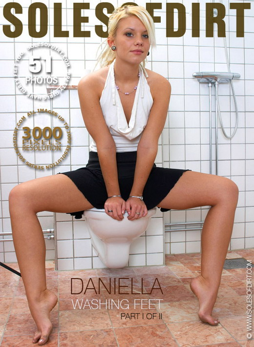 Daniella - `Washing Feet - Part 1` - for SOLESOFDIRT