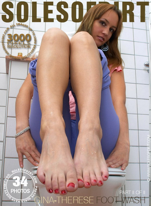 Gina-Therese - `Foot Wash - Part 2` - for SOLESOFDIRT