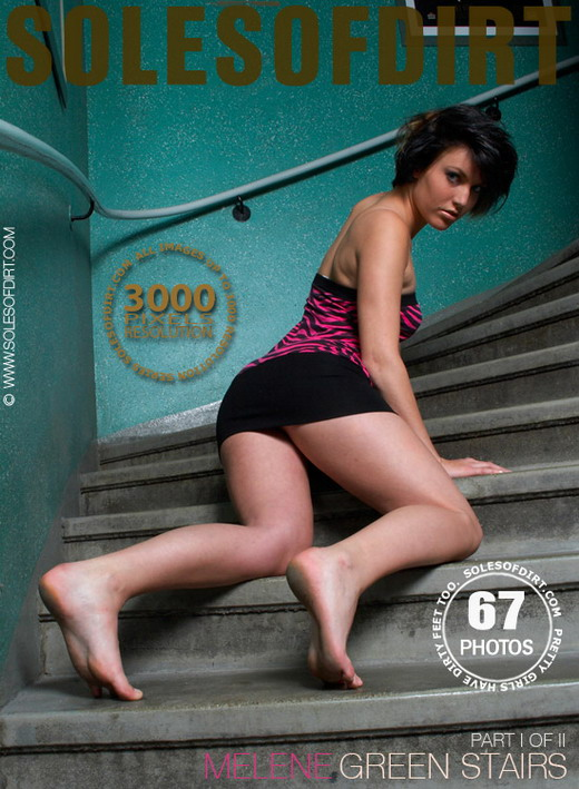 Melene - `Green Stairs - Part 1` - for SOLESOFDIRT