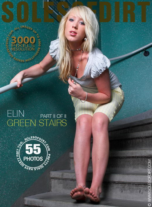 Elin - `Green Stairs - Part 2` - for SOLESOFDIRT