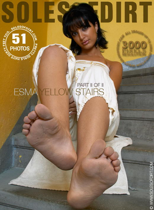 Esma - `Yellow Stairs - Part 2` - for SOLESOFDIRT