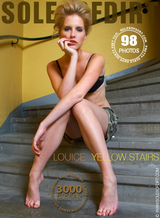 Louice - `Yellow Stairs` - for SOLESOFDIRT