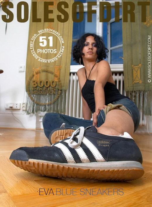 Eva - `Blue Sneakers` - for SOLESOFDIRT