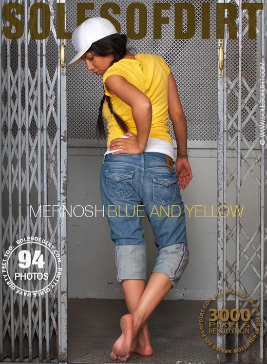 Mernosh - `Blue and Yellow` - for SOLESOFDIRT