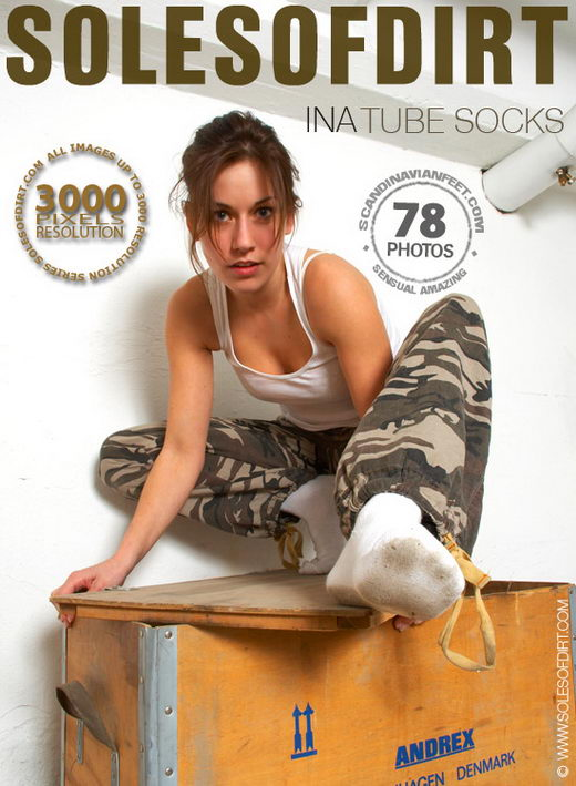 Ina - `Tube Socks` - for SOLESOFDIRT