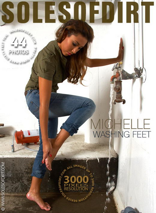 Michelle - `Washing Feet` - for SOLESOFDIRT