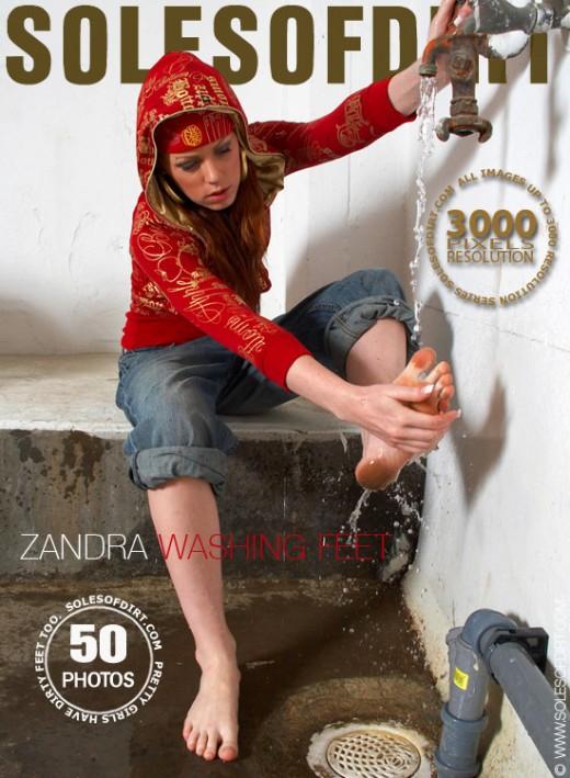 Zandra - `Washing Feet` - for SOLESOFDIRT